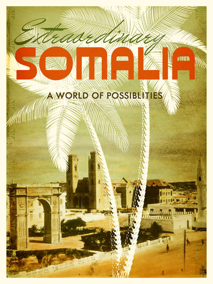 Somalia Travel Poster