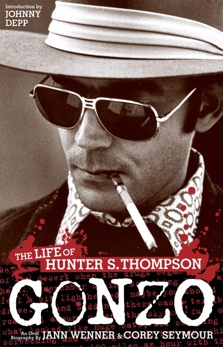 Gonzo Cover gonzo, hunter thompson, hunter s thompson, book cover, joe newton, design, joseph newton,